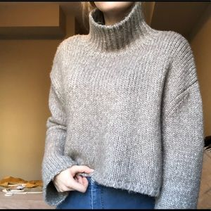 Oak + Fort over sized chunky knit